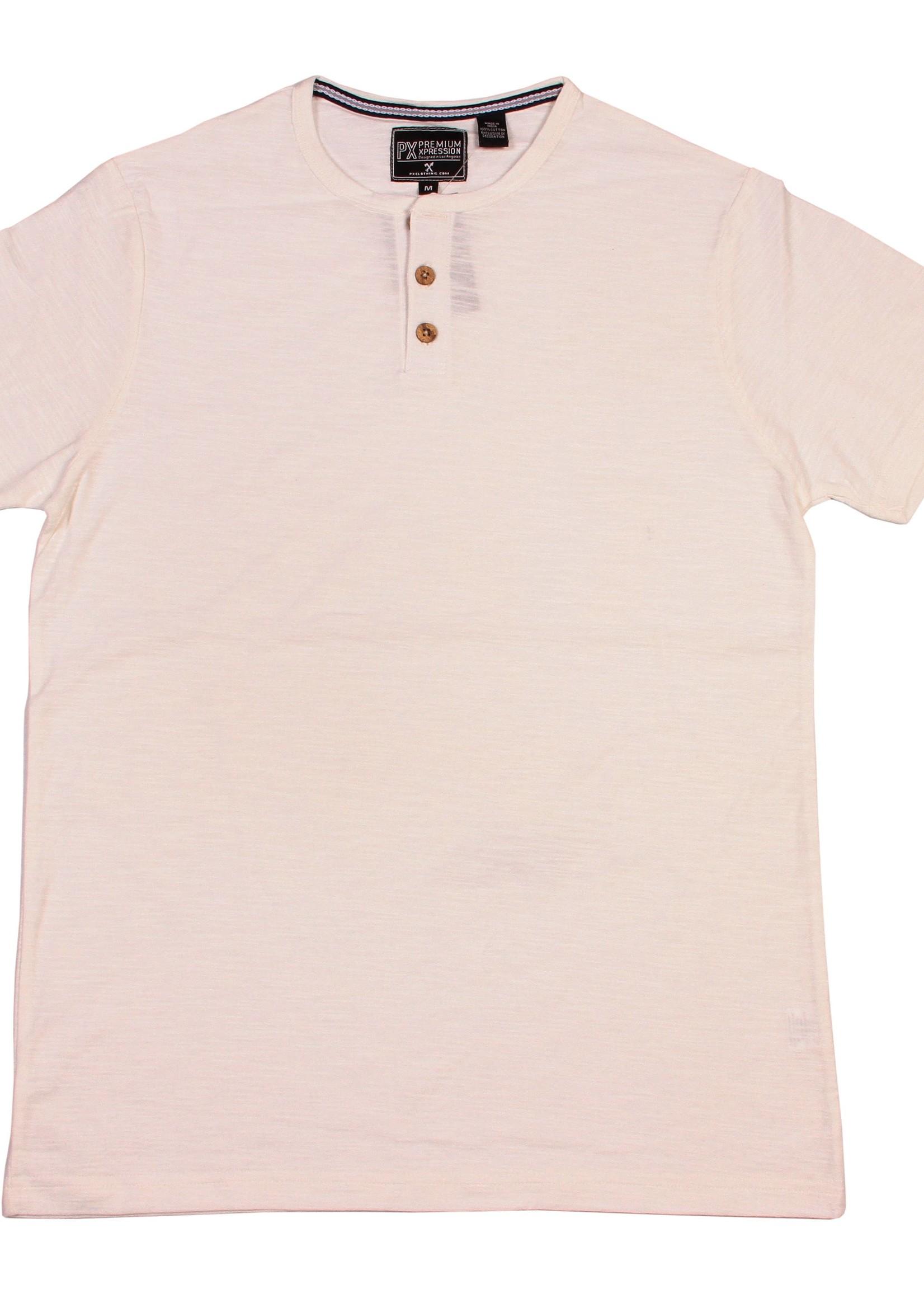 bear camp Henley Cream Shirt