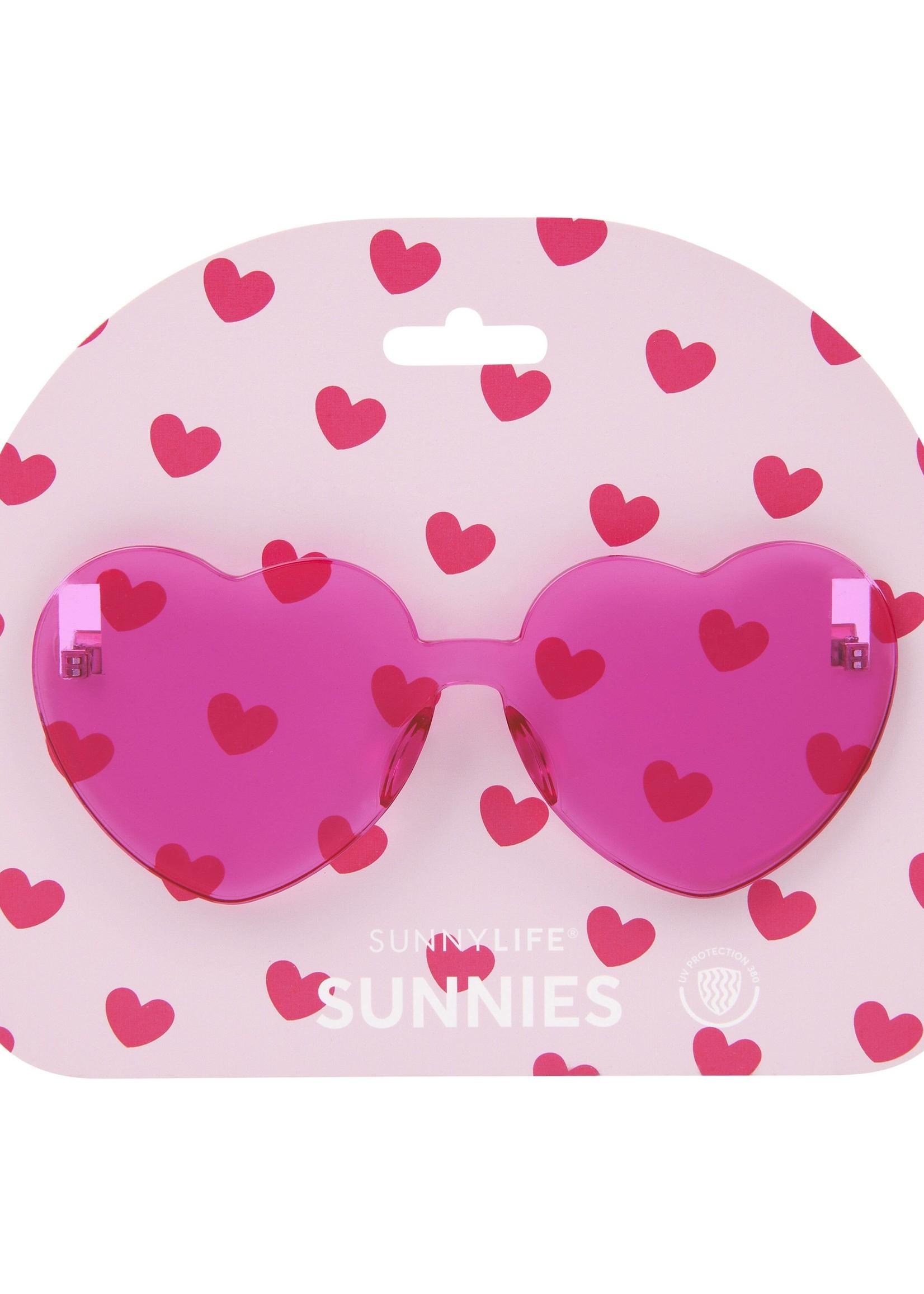Heart Sunnies- Pink