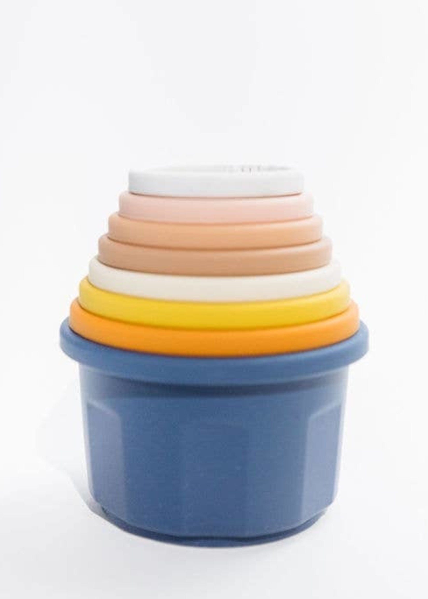 Three Hearts Silicone Stacking Cups