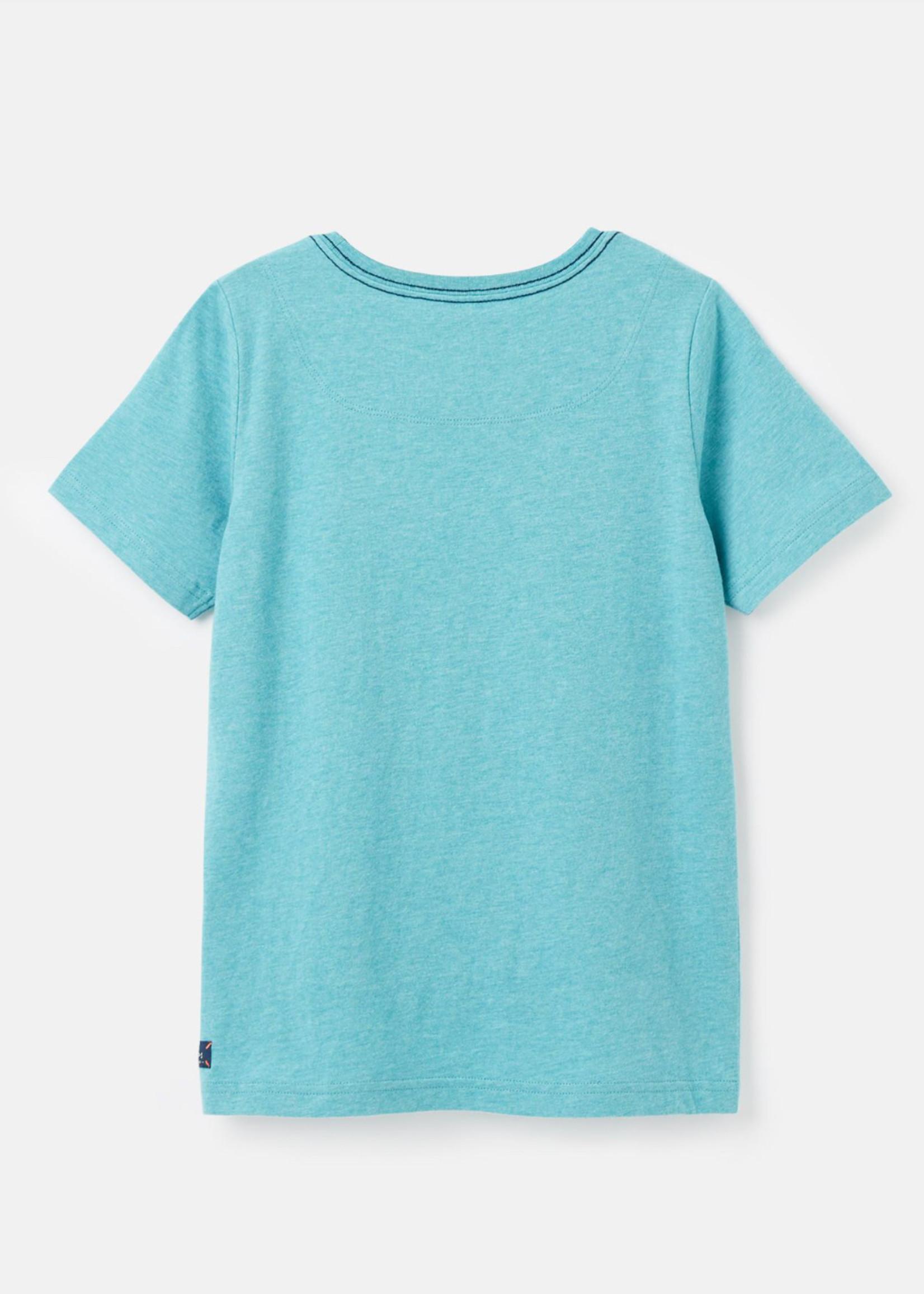 joules Blue Bear Applique Tshirt