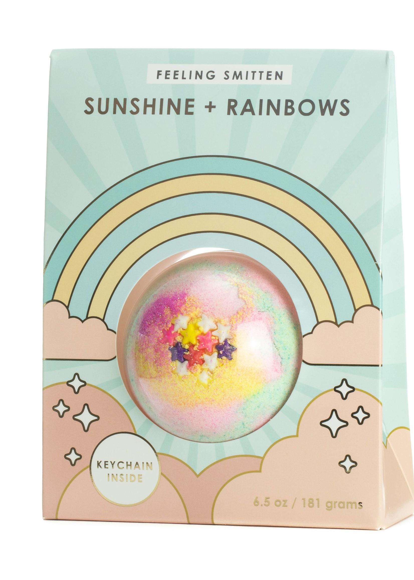 feeling smitten Rainbows + Sunshine Bath Bomb