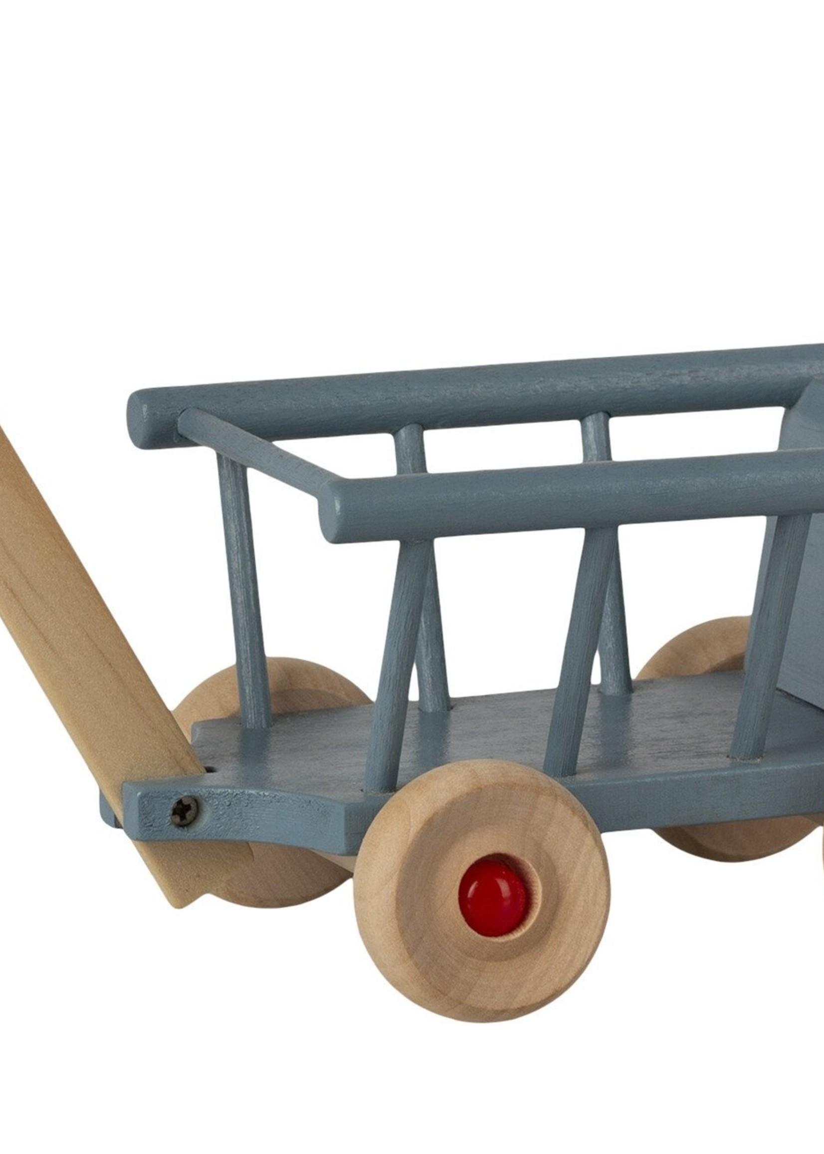 maileg Wagon- Blue