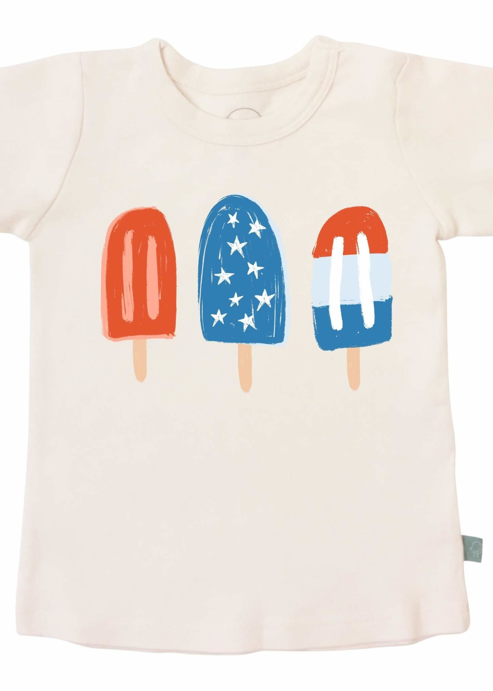 Finn and emma Popsicles Tee