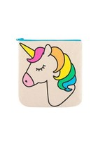 fluf Zip Pouch- Unicorn