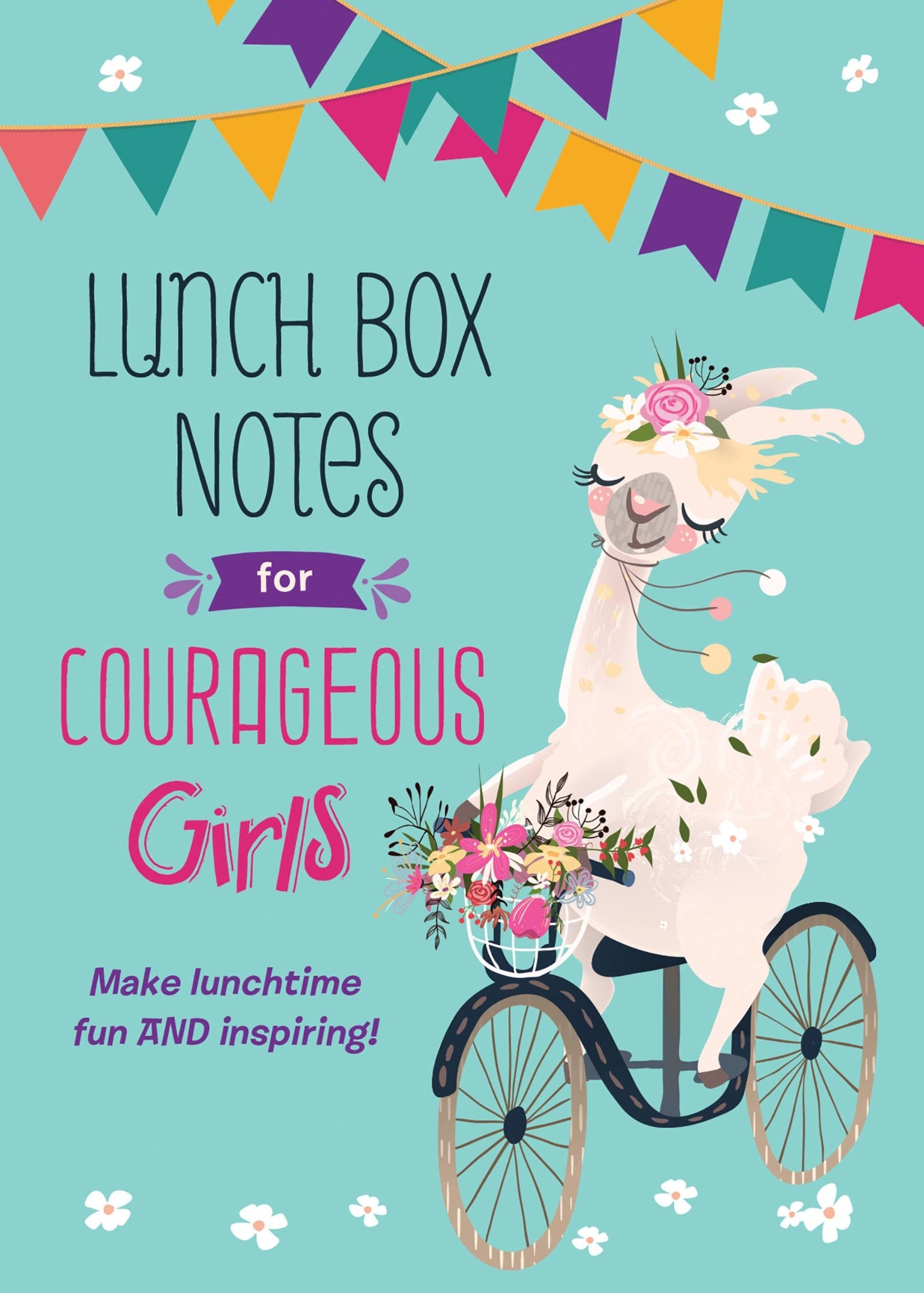 Barbour Publishing Lunch Box Notes for Courageous Girls