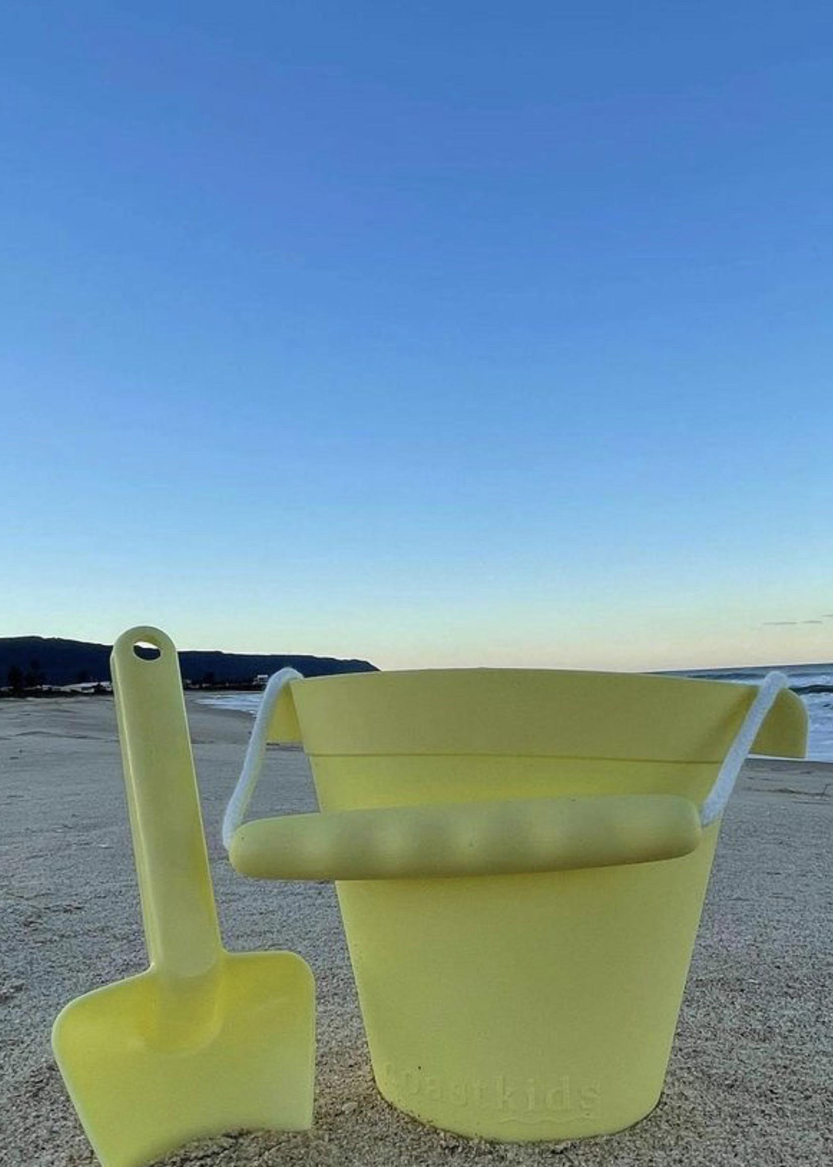 Coast Kids Aus Palm Beach Bucket & Shovel Set, Yellow