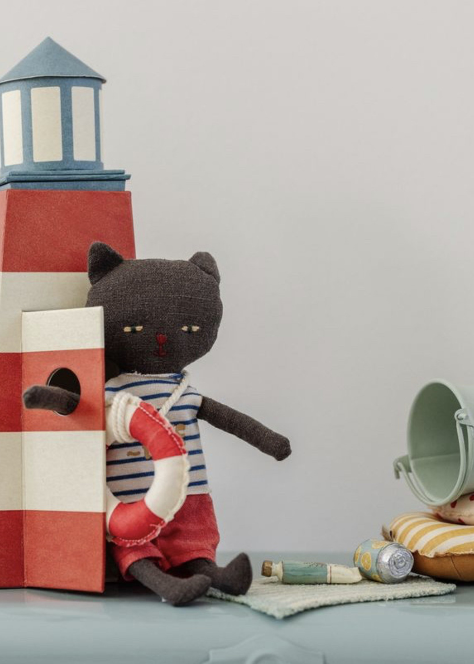 maileg Sauvetuer, Tower with Cat