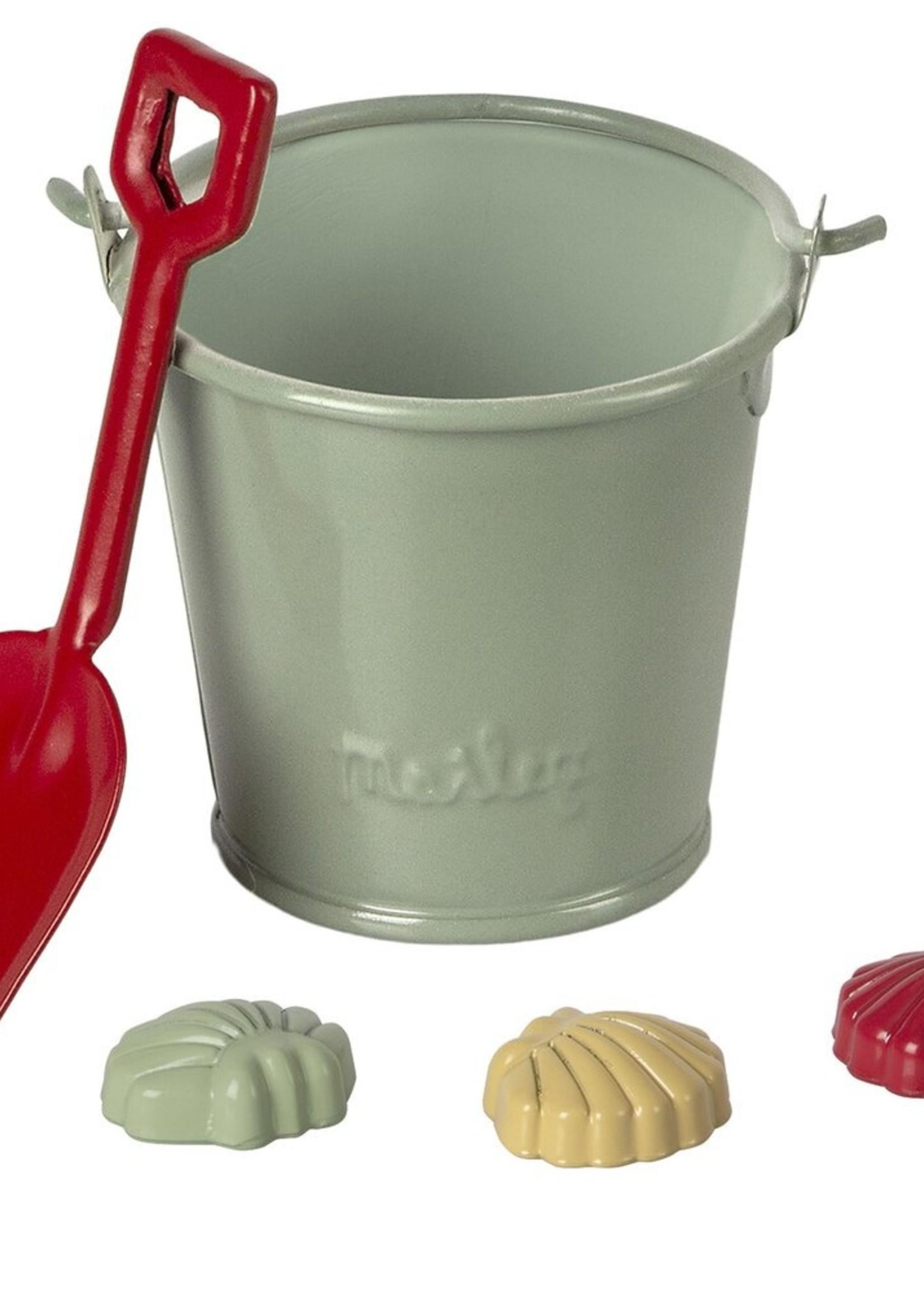 maileg Beach set, shovel, bucket, & shells
