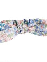 alimrose Adjustable Headband Bow in Liberty Blue