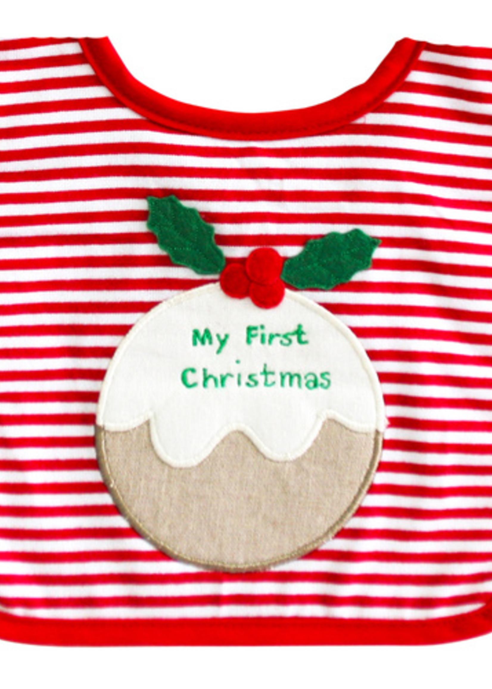 alimrose My First Christmas Bib