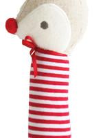 alimrose Rudolph Squeaker in Red Stripe