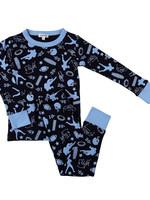 magnolia baby It's Game Time Long Pajamas