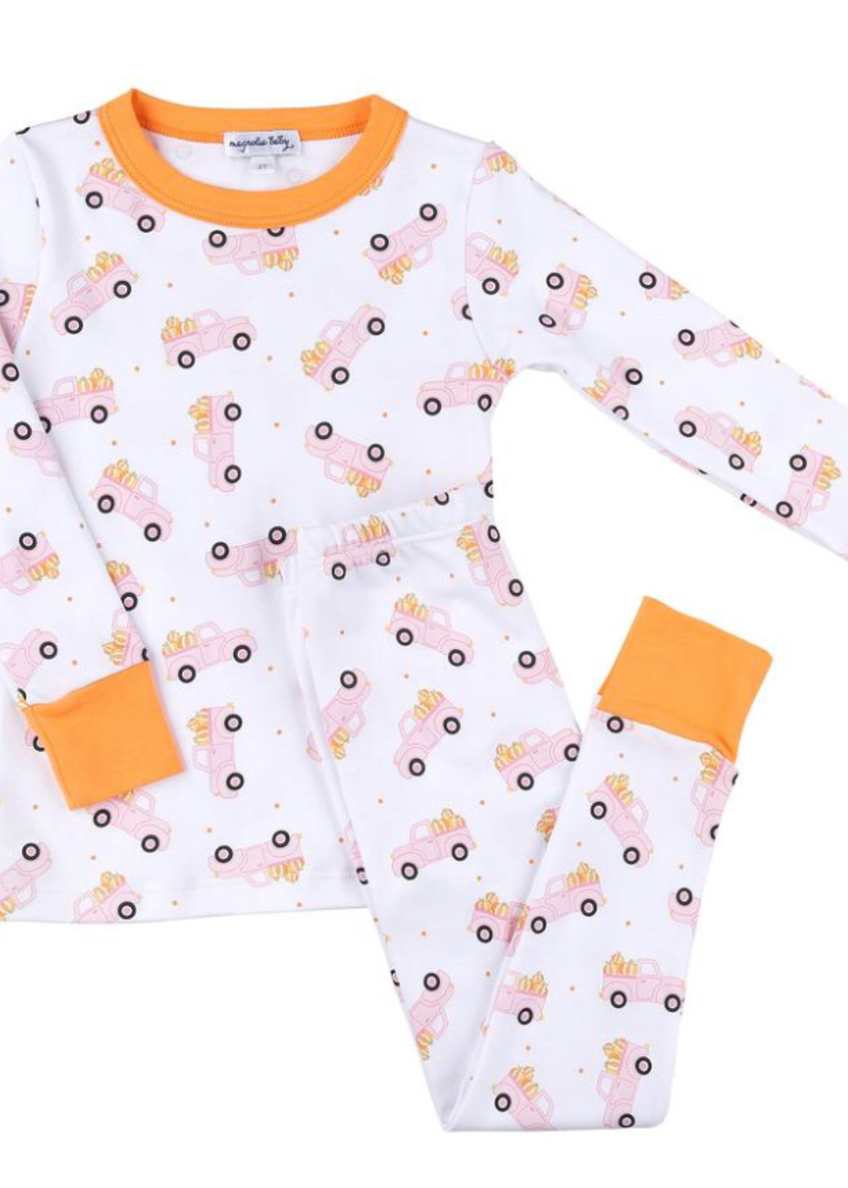 magnolia baby Picking Pumpkins Long Pajamas