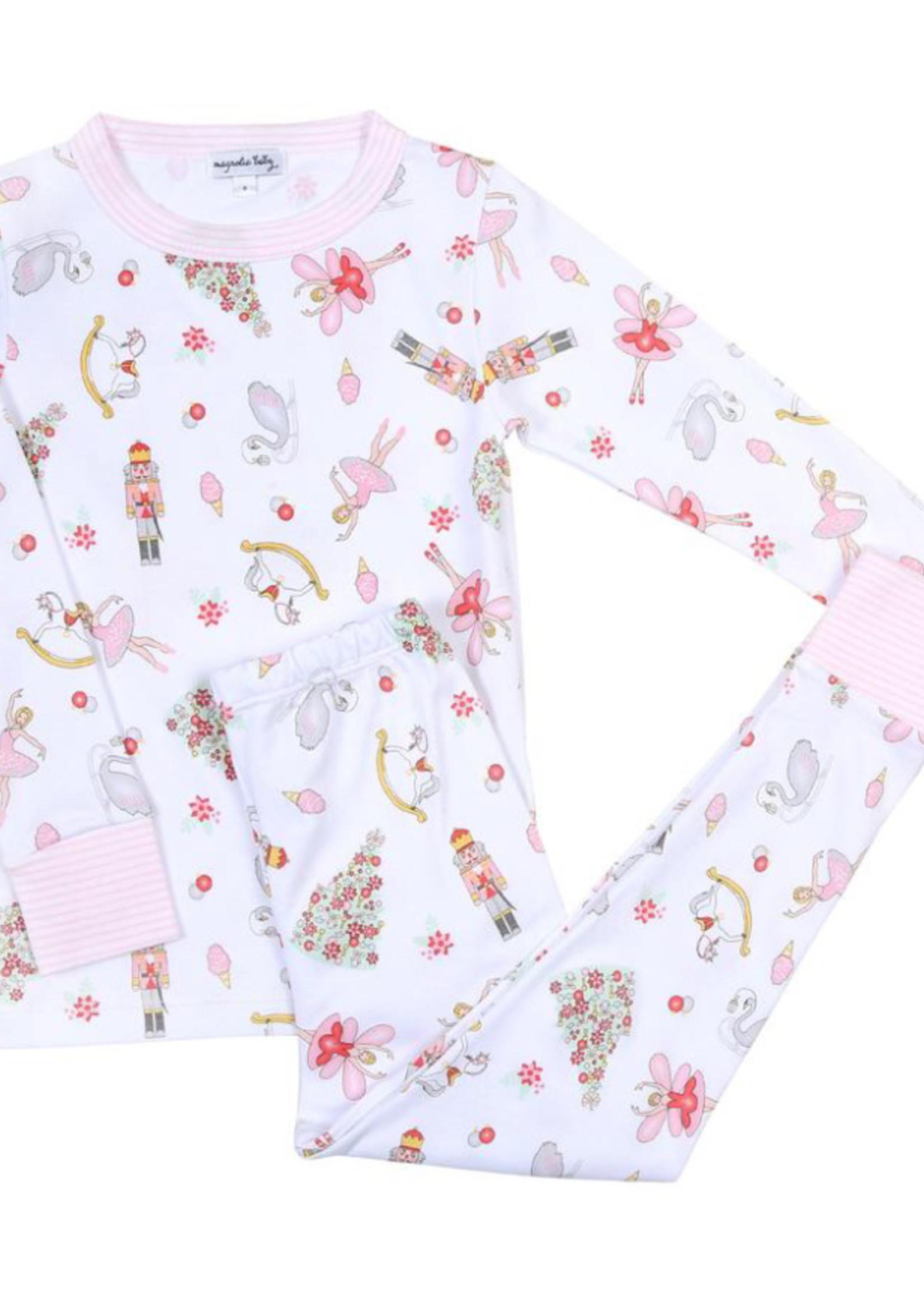 magnolia baby Nutcracker Long Pajamas