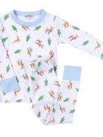 magnolia baby Holiday Buck Pajamas