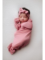 three little tots Rose Knotted Gown