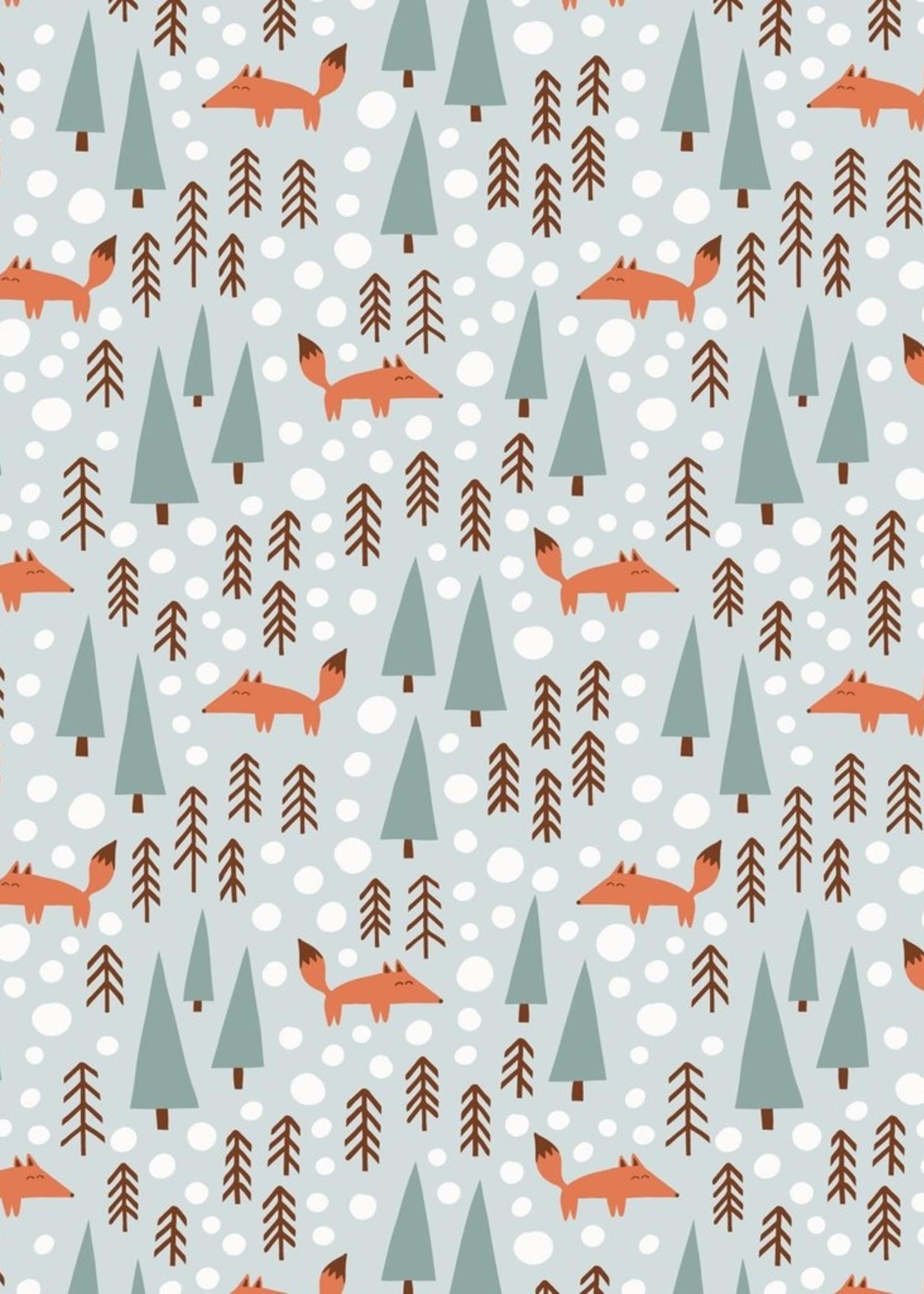 winterwaterfactory Long Sleeve Foxes Romper