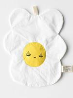Wee gallery Organic Crinkle Toy -Egg