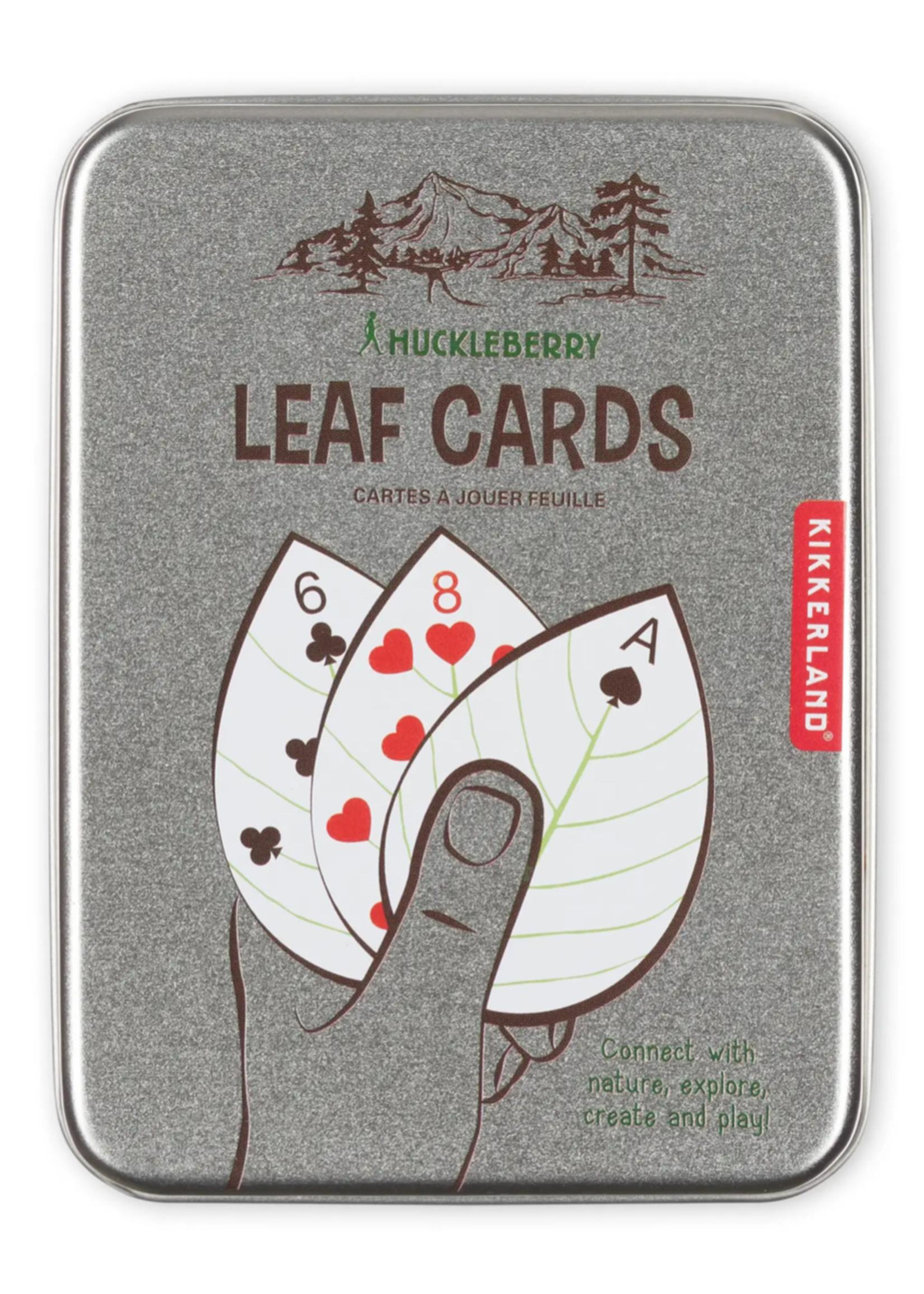 huckleberry by kirkland Huckleberry Leaf Cards