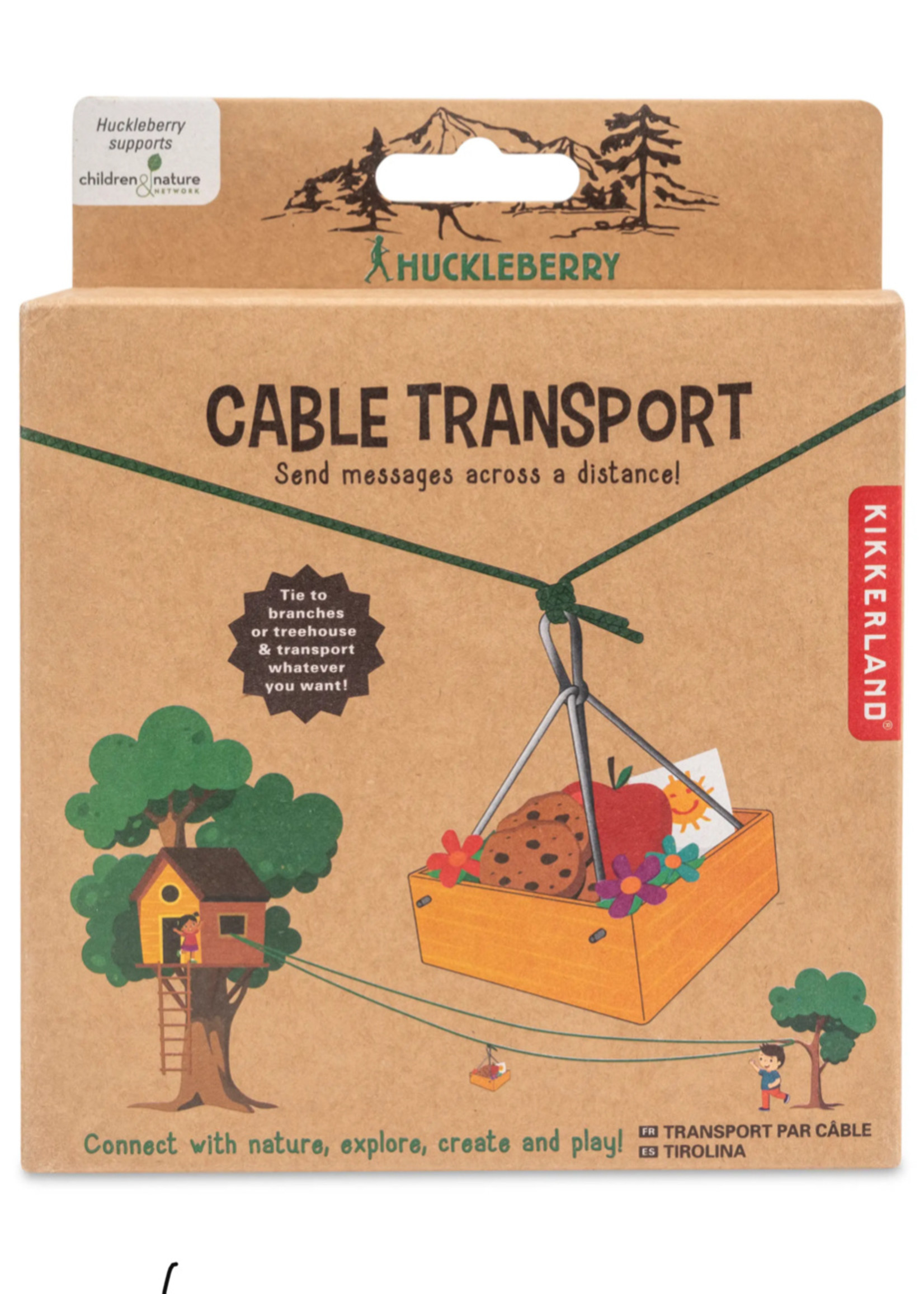 huckleberry by kirkland Huckleberry Cable Transport