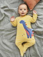 jojo maman bebe Dinosaur Applique Footie