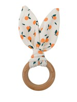 chewable charm Crinkle Bunny Ear Teethers - more color options!