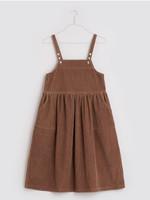 Little Cotton clothes Thalia Pinafore in Oak Cord