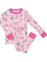 magnolia baby Jolly Santa Long Pajamas