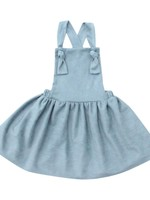 mila and rose Pale Blue Pinafore