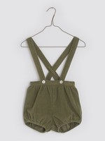 Little Cotton clothes Hastings Romper in Lichen Velvet