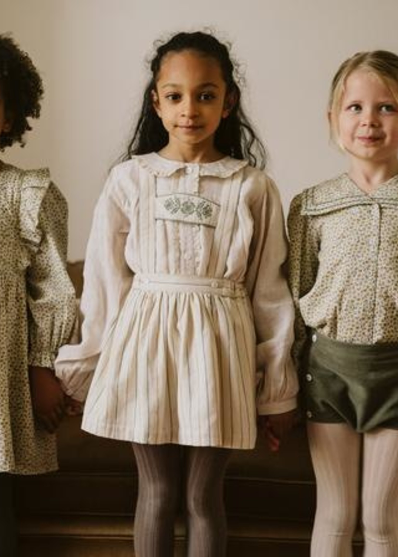Little Cotton clothes Folkestone Bloomers in Lichen Velvet