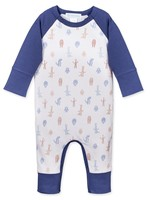feather baby Monster Parade Sailor Sleeve Romper