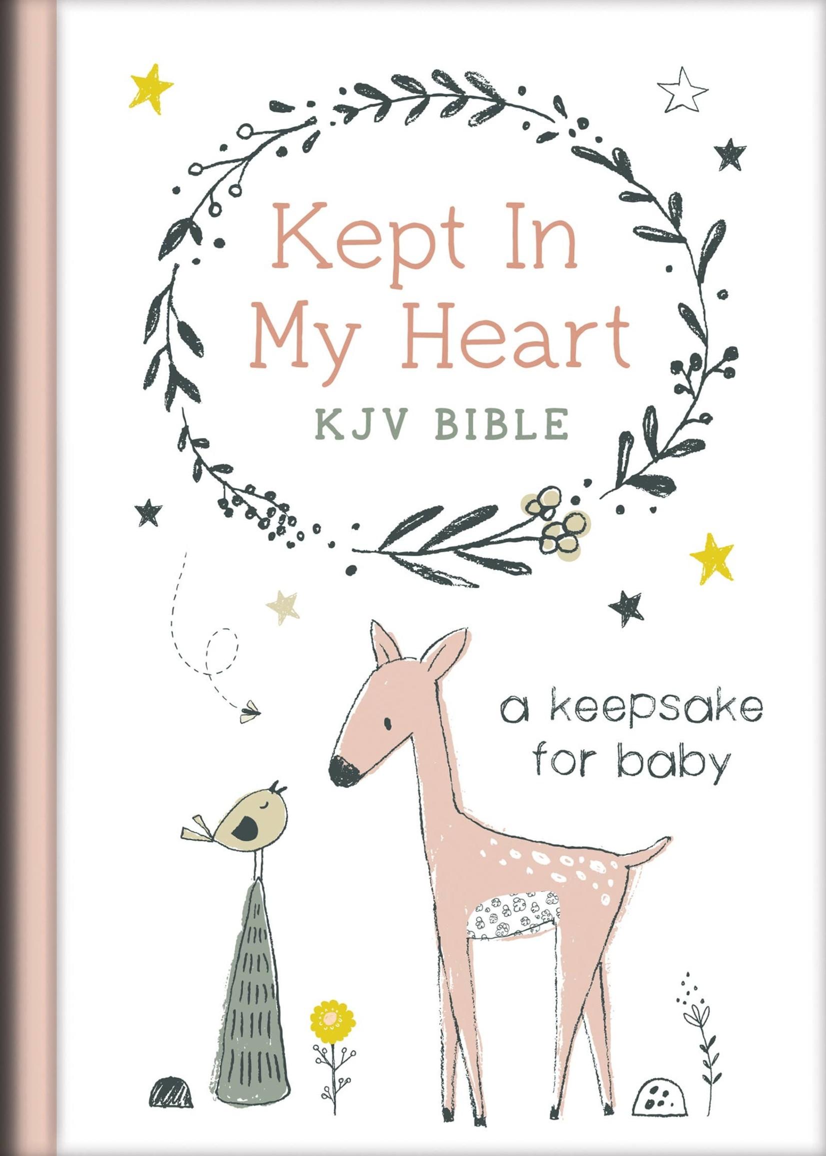 Coral Kept in My Heart KJV Bible