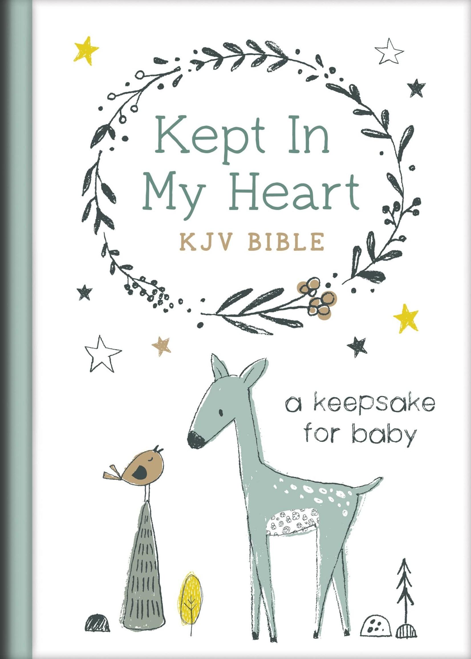 Hazel Kept in My Heart KJV Bible