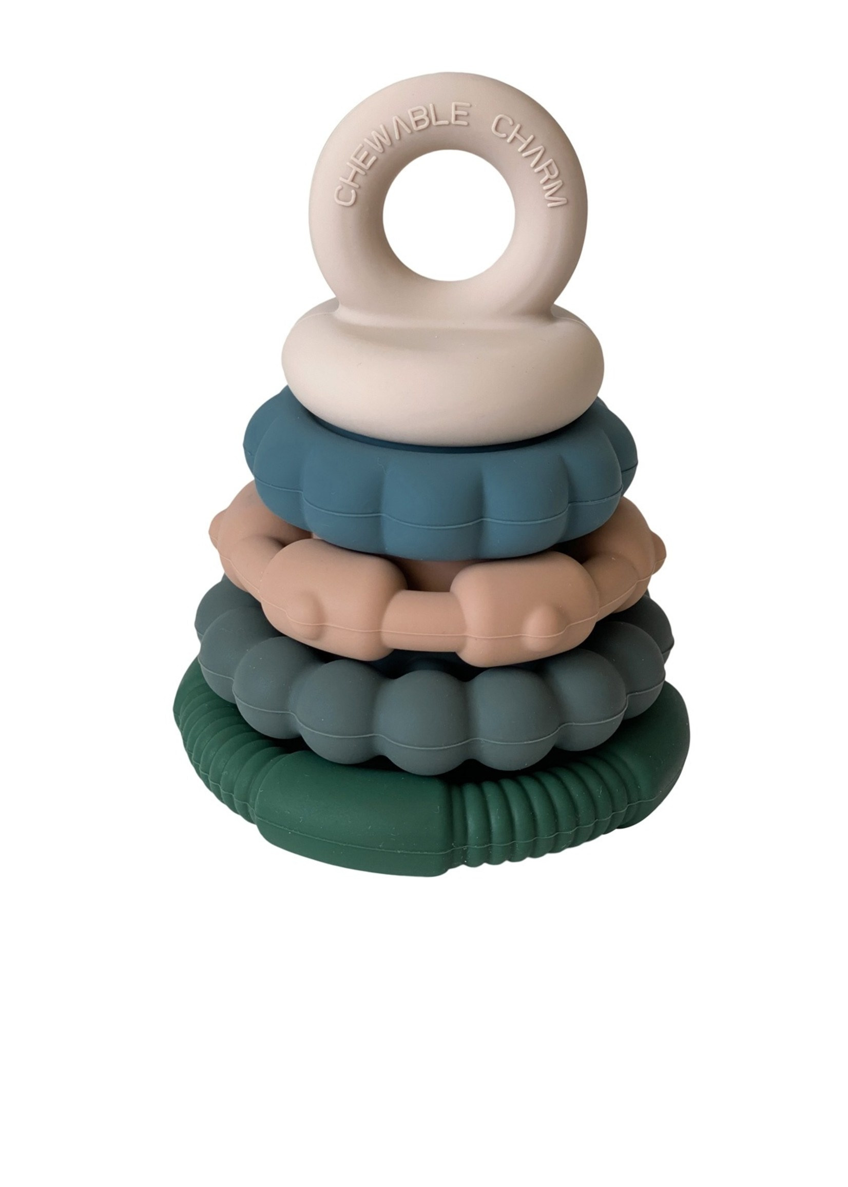 chewable charm Forest Teether Stacker