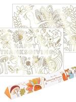 meri meri Thanksgiving Coloring Posters