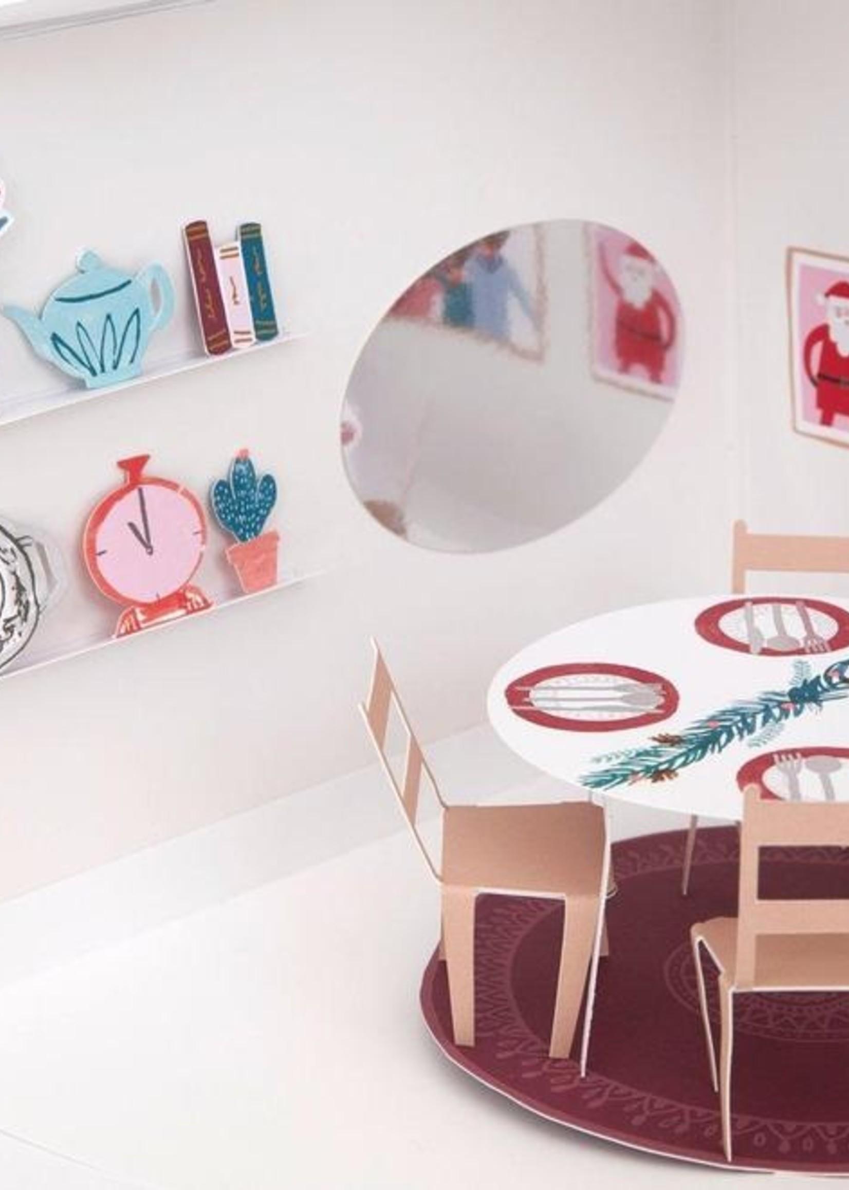 meri meri Festive House Paper Craft Advent Calendar
