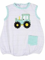 magnolia baby Tractor Time Sleeveless Bubble