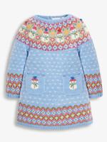 Snowman Fair Isle Dress