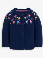 jojo maman bebe Woodland Embroidered Cardigan