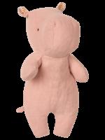 Small Hippo in Dusty Rose - Safari Friends