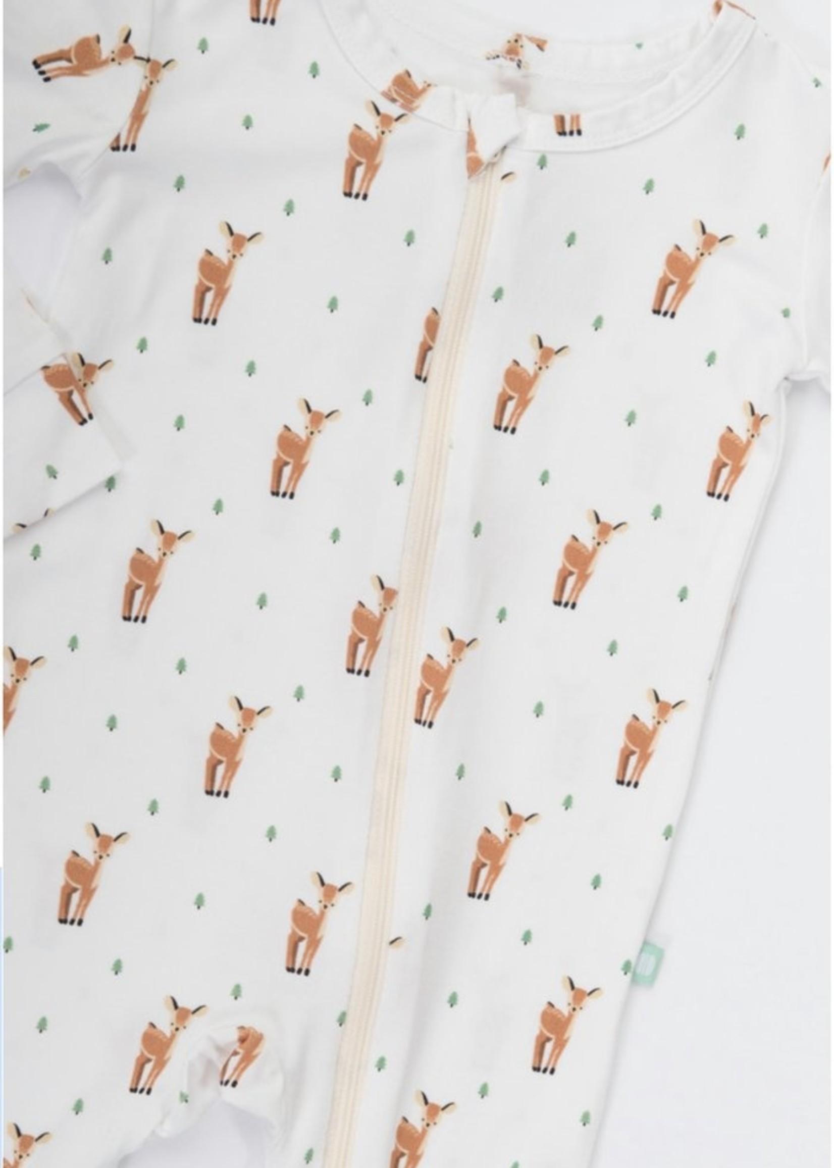 Macaron + Me Oh Deer onesie