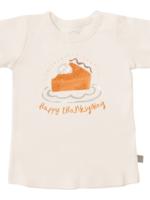 Finn and emma Thanksgiving Pie Cream Tee