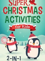 Barbour Publishing Super Christmas Activities for Kids