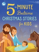Barbour Publishing 5-Minute Bedtime Christmas Stories for Kids