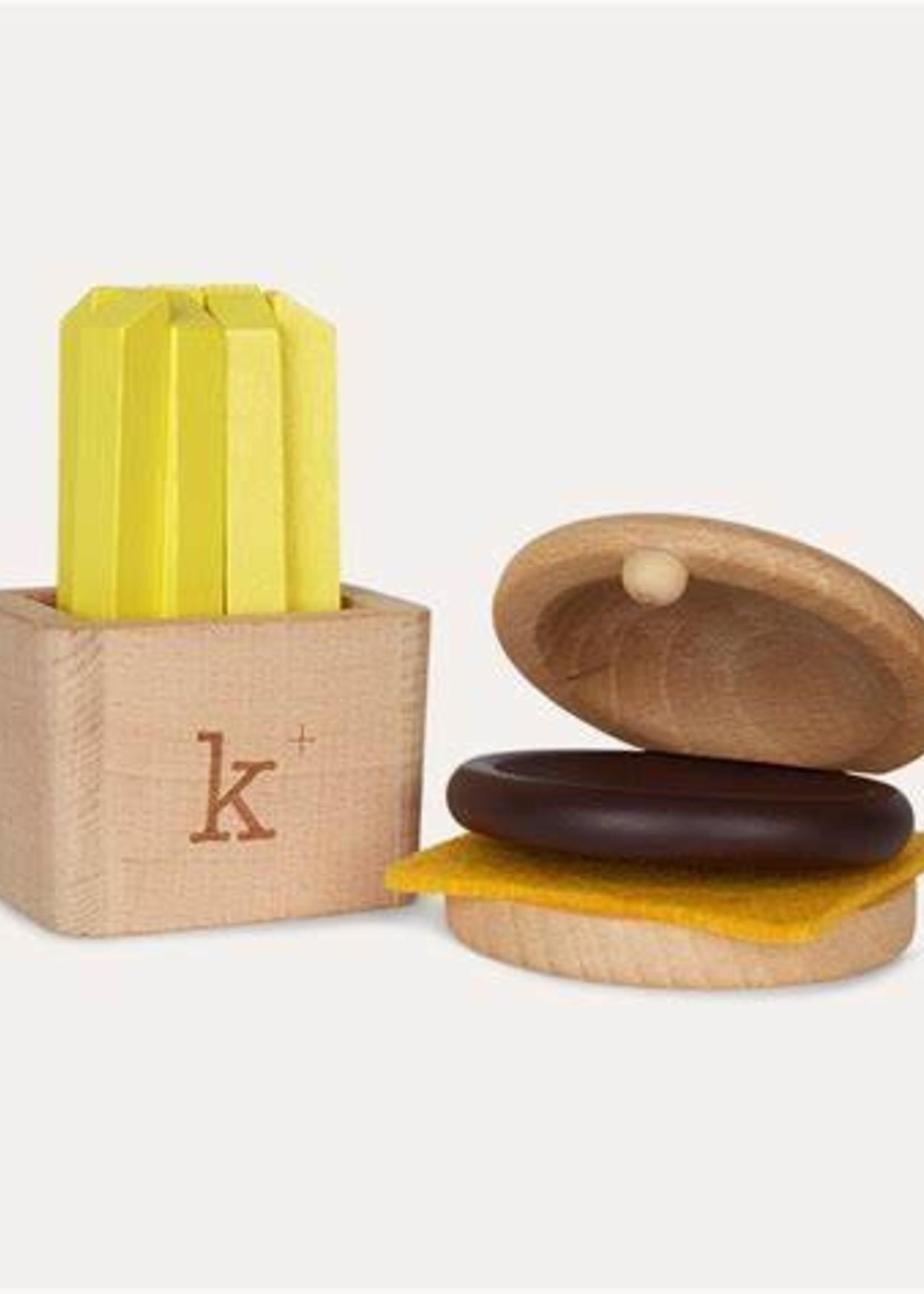 Kiko & gg Hamburger musical play set