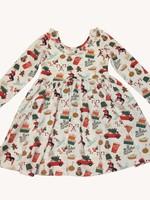 charming mary Christmas Confetti Dress