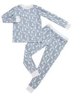 Emerson & Friends White Christmas Bamboo Pajama Set