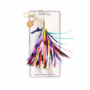Packed Party Stream Big Charging Cord Keychain