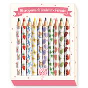 Djeco 10 Aiko Mini Colored Pencils